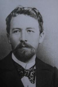 Portrait d'Anton Tchekhov
