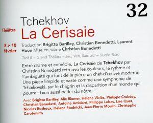 Tchekhov-remix | Françoise Morvan